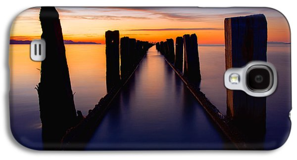 Lake Reflection Galaxy S4 Case by Chad Dutson