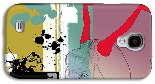 Last Dance Galaxy S4 Case by Naxart Studio