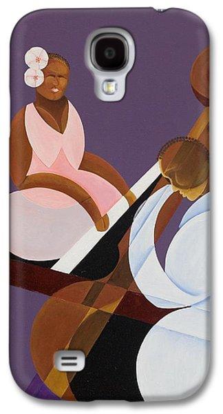 Lavender Jazz Galaxy S4 Case by Kaaria Mucherera
