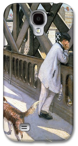 Le Pont De L'europe Galaxy S4 Case by Gustave Caillebotte