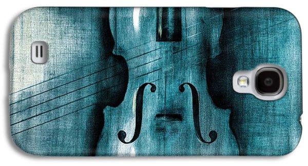 Violin Galaxy S4 Case - Le Violon Bleu by Hakon Soreide
