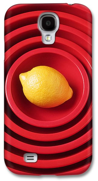 Lemon In Red Bowls Galaxy S4 Case