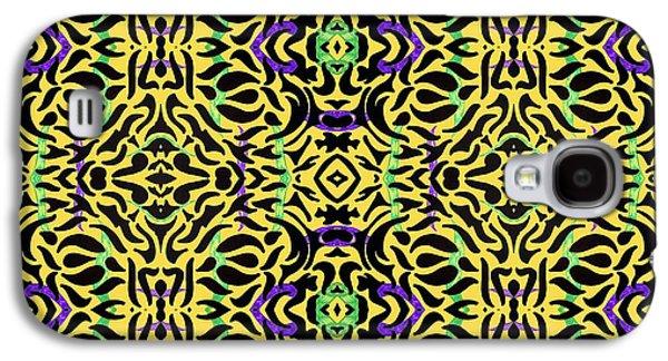 Leopard Print Art Galaxy S4 Case