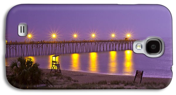 Lightening Strike At Kure Beach Galaxy S4 Case by Betsy Knapp