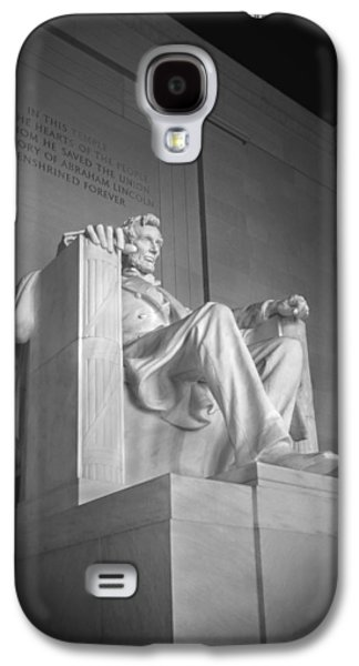 Lincoln Memorial  Galaxy S4 Case by Mike McGlothlen
