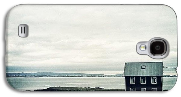 Little Black House By The Sea Galaxy S4 Case
