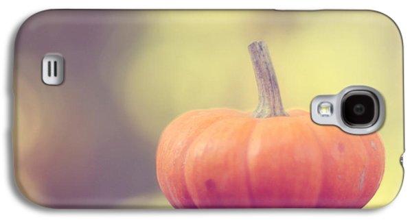Little Pumpkin Galaxy S4 Case by Amy Tyler