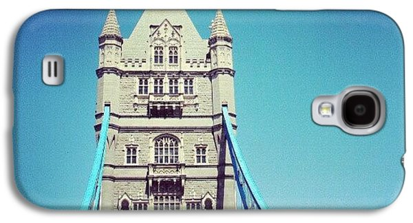 London Bridge, May - 2012 #london Galaxy S4 Case by Abdelrahman Alawwad