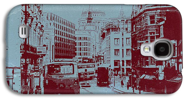 London Fleet Street Galaxy S4 Case by Naxart Studio
