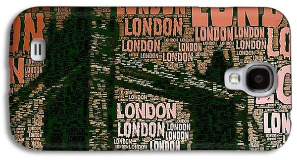#london Just London Galaxy S4 Case by Ozan Goren