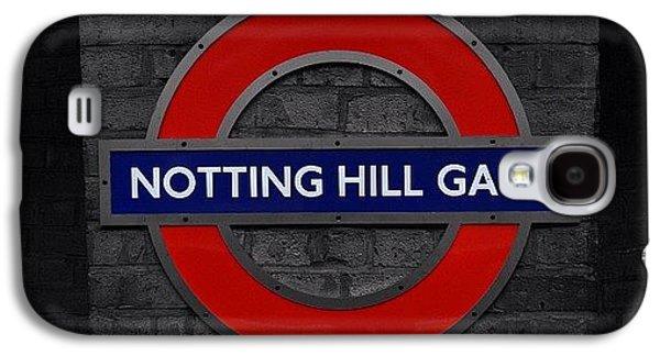 #london #nottinghillgate #underground Galaxy S4 Case by Ozan Goren