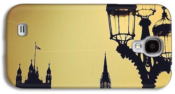 London Galaxy S4 Case - #london #westminster #londoneye #siluet by Ozan Goren