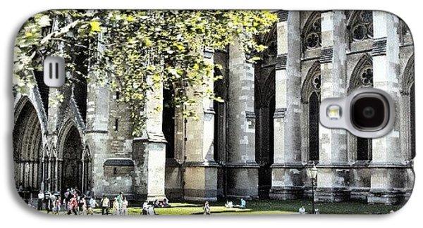 London Galaxy S4 Case - #london2012 #london #church #stone by Abdelrahman Alawwad
