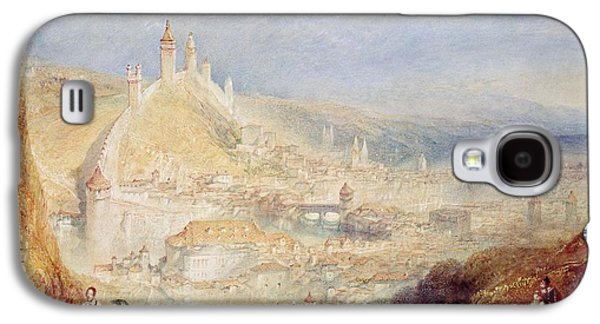 Lucerne From The Walls Galaxy S4 Case by Joseph Mallord William Turner