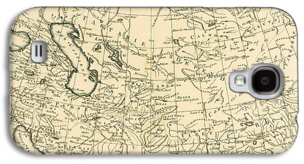 Map Of Persia Galaxy S4 Case by Guillaume Raynal