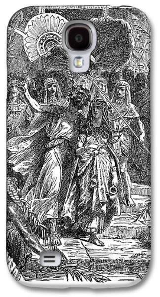 Marc Antony & Cleopatra Galaxy S4 Case by Granger
