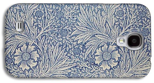 Marigold Wallpaper Design Galaxy S4 Case by William Morris