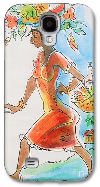 Market Woman Galaxy S4 Case