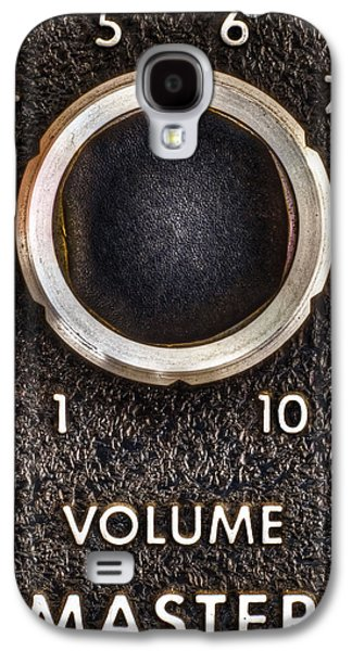 Master Volume Galaxy S4 Case by Scott Norris