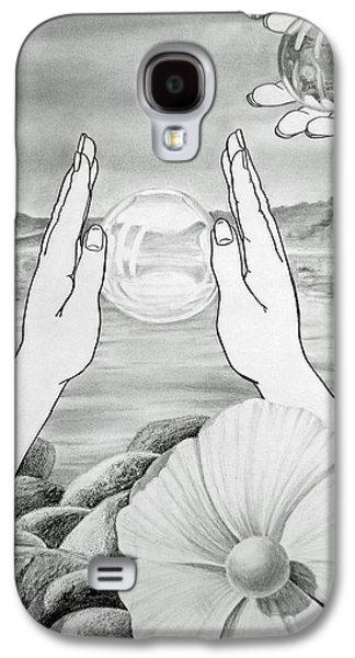 Meditation  Galaxy S4 Case by Irina Sztukowski