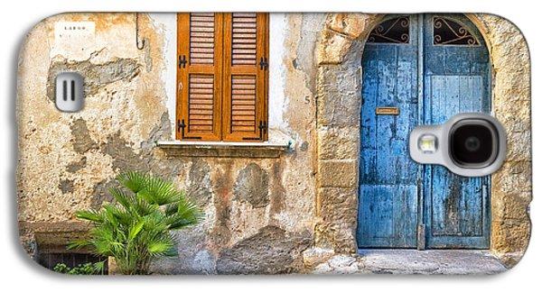Mediterranean Door Window And Vase Galaxy S4 Case