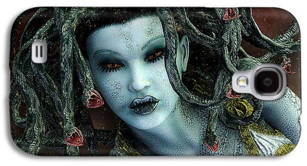 Medusa Galaxy S4 Case by Jutta Maria Pusl