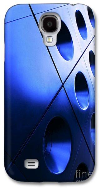 Metallic Background Galaxy S4 Case by Jane Rix