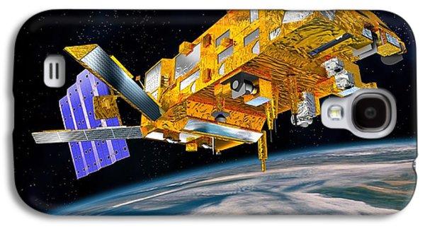 Metop Weather Satellite, Artwork Galaxy S4 Case