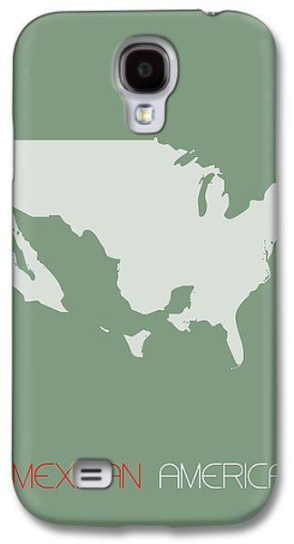 Mexican America Poster Galaxy S4 Case