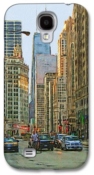 Michigan Avenue Galaxy S4 Case by Vladimir Rayzman