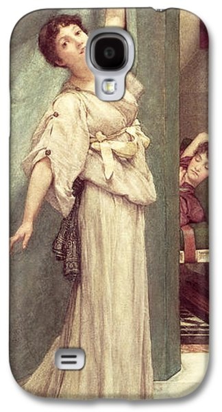 Midday Slumbers  Galaxy S4 Case by Sir Lawrence Alma-Tadema