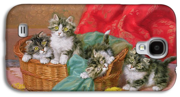 Mischievous Kittens Galaxy S4 Case by Daniel Merlin