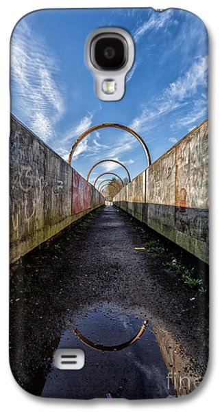 Monkey Bridge Galaxy S4 Case by John Farnan