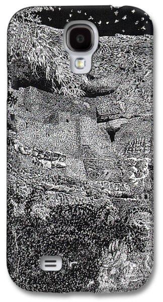 Montezuma Castle  Galaxy S4 Case by Jack Pumphrey