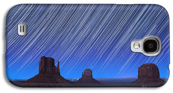 Monument Valley Star Trails 1 Galaxy S4 Case by Jane Rix
