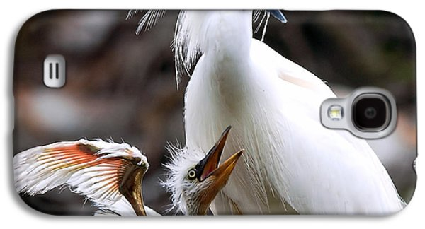 Mother And Child Galaxy S4 Case by Kenneth Albin