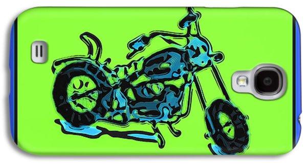 Motorbike 1c Galaxy S4 Case by Mauro Celotti