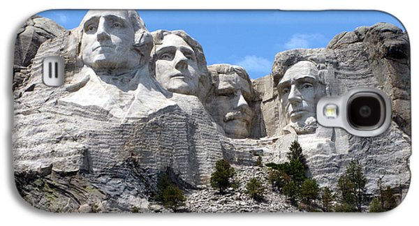 Lincoln Memorial Galaxy S4 Case - Mount Rushmore Usa by Olivier Le Queinec