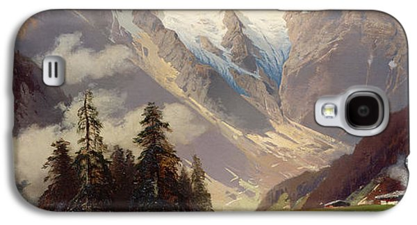 Mountain Landscape With The Grossglockner Galaxy S4 Case by Nicolai Astudin