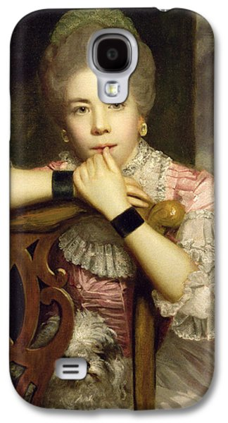 Mrs Abington As Miss Prue In Congreve's 'love For Love'  Galaxy S4 Case by Sir Joshua Reynolds