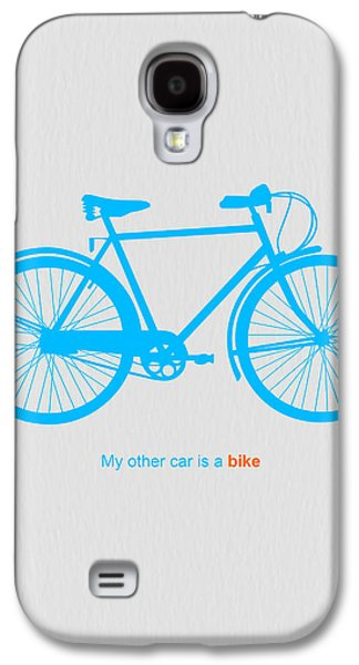 My Other Car Is A Bike  Galaxy S4 Case by Naxart Studio
