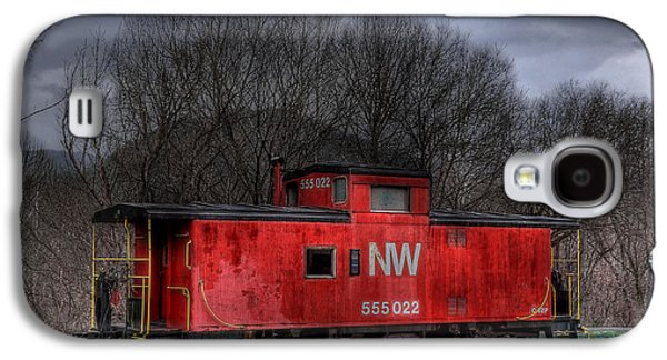 N W Caboose Galaxy S4 Case by Todd Hostetter