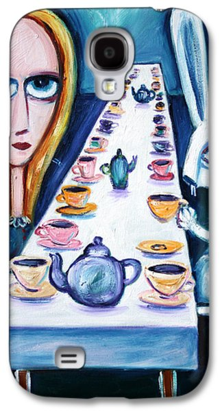 Never Ending Tea Party Galaxy S4 Case by Leanne Wilkes