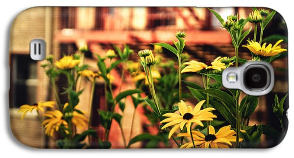 New York City Flowers Along The High Line Park Galaxy S4 Case by Vivienne Gucwa