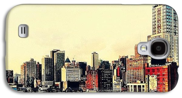 New York City Rooftops Galaxy S4 Case