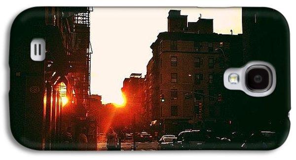 New York City Sunset Galaxy S4 Case