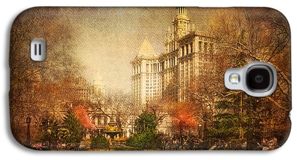 New York In April Galaxy S4 Case