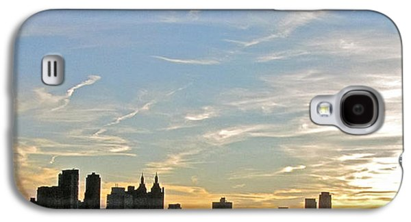 New York Sunset 2 Galaxy S4 Case