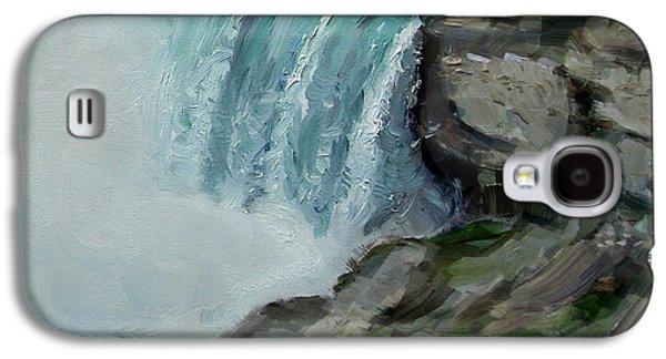 Niagara Falls Rocks Galaxy S4 Case by Ylli Haruni