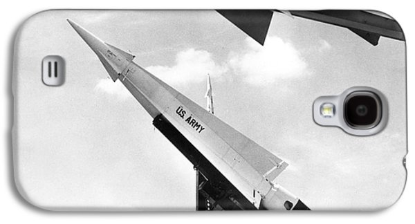 Nike Missile, C1959 Galaxy S4 Case by Granger